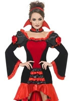 Adult Fever Boudoir Vampiress Costume