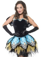 Adult Fever Boutique Butterfly Costume [44004]