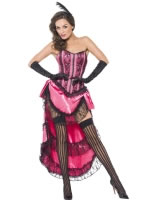 Adult Fever Boutique Can Can Diva Costume [44003]