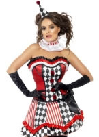 Adult Fever Boutique Clown Cutie Costume [41038]