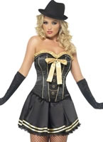 Adult Fever Boutique Gangster Costume [42331]