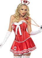 Adult Fever Boutique Nurse Costume [42328]