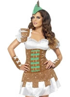 Adult Fever Boutique Sexy Robin Hood Costume