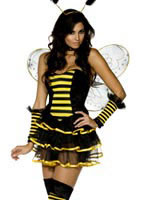 Adult Fever Bumblebee Costume [31102]
