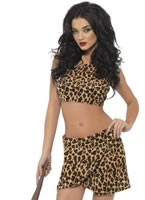 Fever Cave Girl Costume