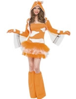 Adult Fever Clownfish Costume [45361]