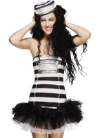 Adult Fever Convict Cutie Costume