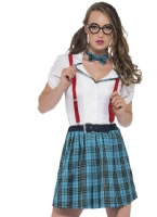 Adult Geek School Girl Costume