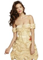 Adult Fever Golden Princess Costume