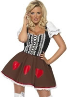 Adult Fever Heidi Costume