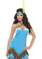 Adult Fever Indian Costume