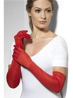 Fever Long Red Gloves