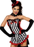 Adult Fever Madame Vamp Costume