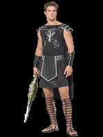 Adult Fever Male Dark Gladiator Costume