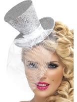 Fever Mini Silver Top Hat