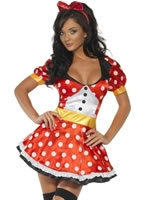 Adult Fever Miss Mouse Costume