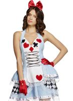 Adult Fever Miss Wonderland Costume