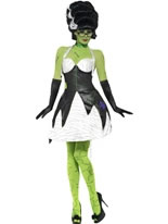 Adult Fever Monster Bride Costume
