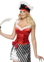 Fever Pirate Costume [26033]