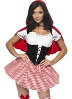 Adult Fever Red Riding Hood Costume