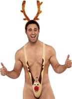 Adult Fever Rudolph Mankini