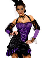 Fever Seductive Can Can Costume [32083]