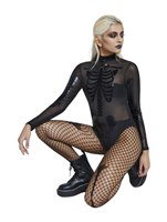 Fever Sheer Skeleton Bodysuit