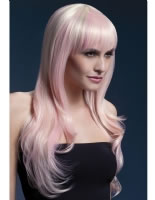 Adult Fever Sienna Pink/Blonde Wig [42550]