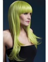 Adult Fever Sienna Pastel Green Wig [42553]
