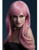 Adult Fever Sienna Pastel Pink Wig [42554]