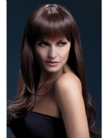 Adult Fever Sienna Wig Brown [42551]