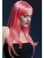Adult Fever Sienna Pastel Coral Wig