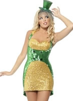 Adult Fever St Paddys Day Bling Costume [29089]