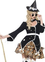Fever Steam Punk Witch Costume [35205]