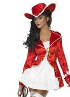 Adult Fever Sultry Pirate Costume