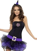 Adult Fever Tutu Witch Costume