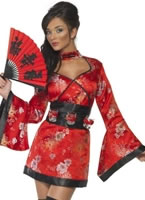Adult Fever Vodka Geisha Costume