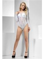 Fever White Lace Bodysuit