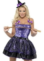Adult Fever Witch Glimmer Costume