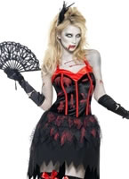 Fever Zombie Burlesque Costume [23208]