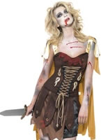 Fever Zombie Gladiator Costume [23215]