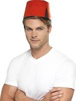 Fez Hat Red Felt [99782]