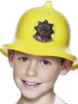 Firemans Hat Yellow Plastic [26116]