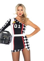 Adult First Place Racer Costume [83944]
