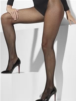 Fishnet Tights Black Plus Size