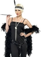 Adult Flappers Dress Black