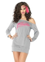Flashdance Sweatshirt Dress Costume