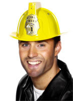 Flashing Firemans Helmet [26047]