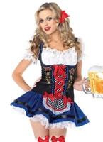 Adult Flirty Frauline Costume [83829]