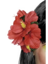 Flower Hawaiian Hair Clip